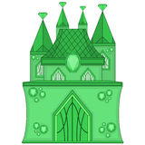 Wonderful Emerald Castle Stock Photos