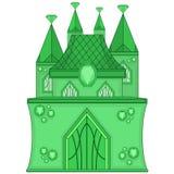 Wonderful Emerald Castle Stock Photos