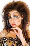 Wonderful eyelashes Royalty Free Stock Photography