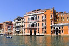 Wonderful facade in Venice (Venezia, Vinegia,Venexia, Venetiae) Royalty Free Stock Photography