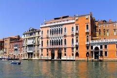 Wonderful facade in Venice (Venezia, Vinegia,Venexia, Venetiae) Royalty Free Stock Photography