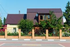 Wonderful family house Stock Image