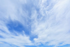 Wonderful Fluffy clouds Stock Photos