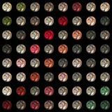 Wonderful glass pattern Stock Photo