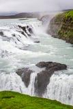 Wonderful Gullfoss waterfall, Iceland. Wonderful Gullfoss waterfall in Iceland stock images