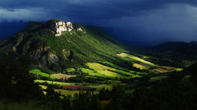 Wonderful hills - French countryside Stock Image