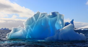Wonderful iceberg Royalty Free Stock Photos