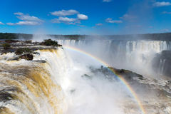 The wonderful Iguazu falls Royalty Free Stock Photos