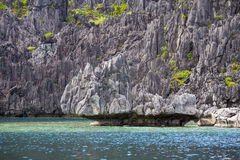Wonderful lagoon in El Nido, Philippines Stock Photo