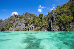 Wonderful lagoon in El Nido, Philippines Royalty Free Stock Images