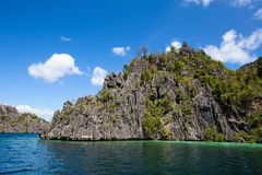 Wonderful lagoon in El Nido, Philippines Royalty Free Stock Image