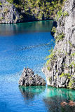 Wonderful lagoon in El Nido, Philippines Royalty Free Stock Photo