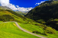Wonderful landscape in the Alps Stock Images