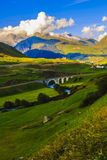Wonderful landscape in the Alps Royalty Free Stock Images