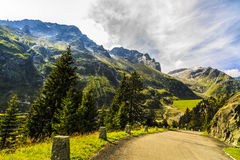 Wonderful landscape in the Alps Stock Photo