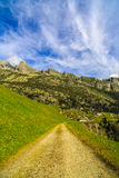 Wonderful landscape in the Alps Royalty Free Stock Image