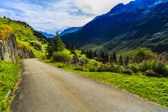 Wonderful landscape in the Alps Royalty Free Stock Photography