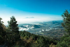 Wonderful landscape from Furlo, marche Italy Royalty Free Stock Photos