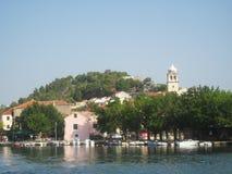Wonderful landscapes of Croatia Stock Images