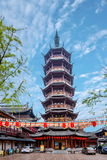Wonderful light tower of Wuxi South Stock Photography