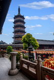 Wonderful light tower of Wuxi South Royalty Free Stock Photo