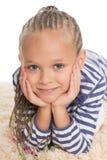 Wonderful little girl closeup Stock Image