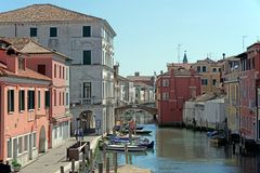 Chioggia Venice Italy little paradise royalty free stock photo
