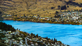 Wonderful living in New Zealand. Living on the lakeside giving wonderful life to villager Stock Photo