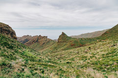 Wonderful Masca valley view, Tenerife, Spain Royalty Free Stock Images