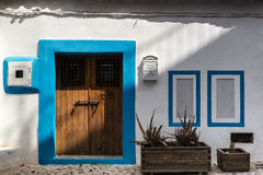 Wonderful Mediterranean style housing full of character Stock Image