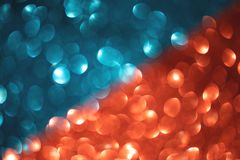 Wonderful mixed blue and red blurred background royalty free stock photography