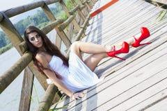 Wonderful Model Royalty Free Stock Image