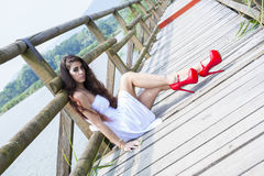 Wonderful Model Royalty Free Stock Photography