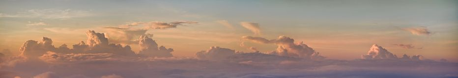 Sunrise from the top of Agung Stock Photos