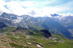 The wonderful mountain world in austria Stock Images