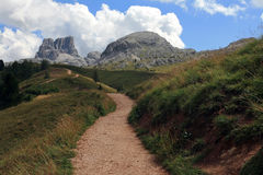 The wonderful mountain world in the south Tyrol Royalty Free Stock Photo