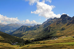 The wonderful mountain world in the south Tyrol Stock Image