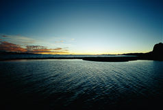Wonderful Nam-co sunset Royalty Free Stock Images