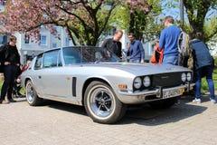 Jensen oldtimer car in Kettwig, district of Essen. stock image
