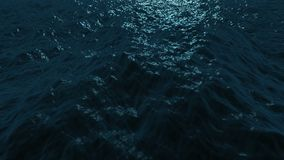 Wonderful ocean waves animation, 4096x2304 loop 4K