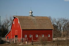 Wonderful old barns that still dot our landscape Royalty Free Stock Photography