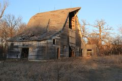 Wonderful old barns that still dot our landscape. Wonderful old barns that still stand and are still being used today for hay, grain storage and shelter for royalty free stock images