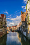 Wonderful old city in Holland Stock Photo