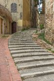 The wonderful Old Town of Perugia, Italy stock photography
