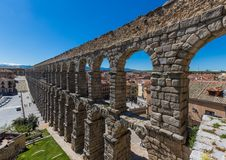 The wonderful Old Town Segovia, Spain royalty free stock photography