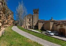The wonderful Old Town Segovia, Spain royalty free stock photos