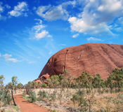 Wonderful Outback colors in Australian Desert Royalty Free Stock Photo