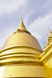 Wonderful Pagoda and Blue Sky Royalty Free Stock Images