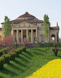 Wonderful palladian Villa called LA ROTONDA in Vicenza 13 Royalty Free Stock Photos