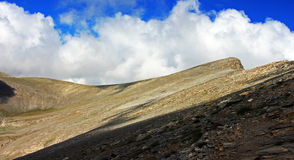 Wonderful panoramic view of the Olympus mountain c Stock Photography